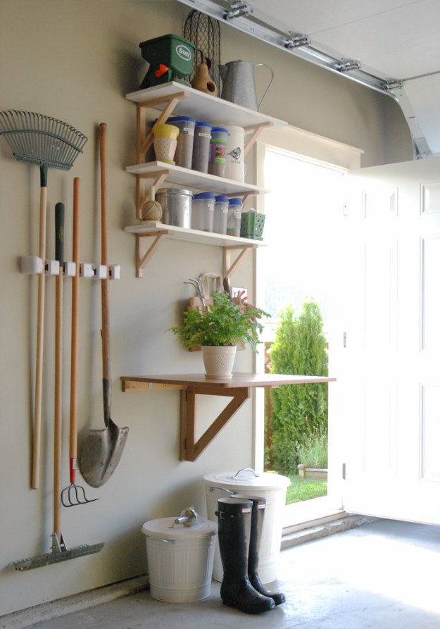 DIY Projects Your Garage Needs -Garage Garden Station - Do It Yourself Garage Makeover Ideas Include Storage, Organization, Shelves, and Project Plans for Cool New Garage Decor #diy #garage #homeimprovement