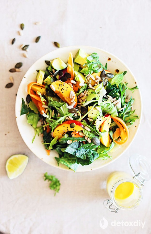 DIY Detox Recipes, Ideas and Tips - Glowing Skin Salad - How to Detox Your Body, Brain and Skin for Health and Weight Loss. Detox Drinks, Waters, Teas, Wraps, Soup, Masks and Skincare Products You Can Make At Home http://diyjoy.com/diy-detox-ideas