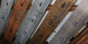 Pottery Barn Inspired Growth Chart Ruler!