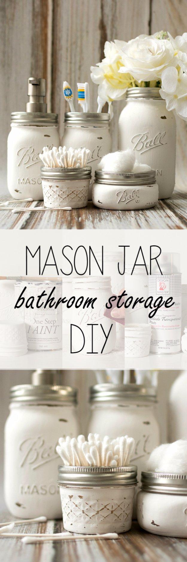 31 DIY Decor Ideas for the Bathroom