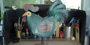 You Can Make One of These Wacky Metal Roosters!