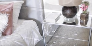 Elegant Mirrored Nightstands! Save LOTS of Money…Easy to Make!