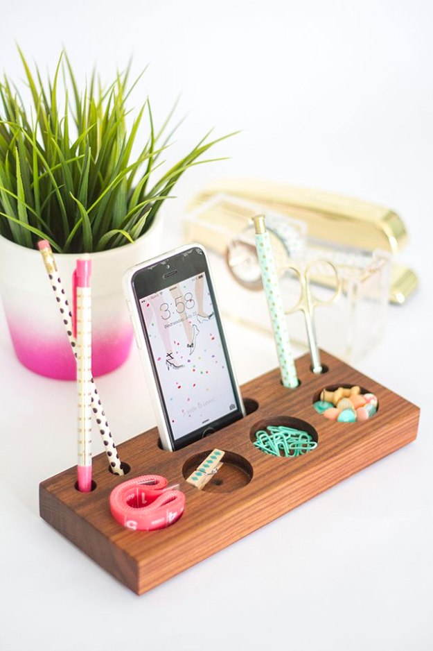 Diy Home Office Decor Ideas Modern Desk Organizer Do It Yourself Desks Tables
