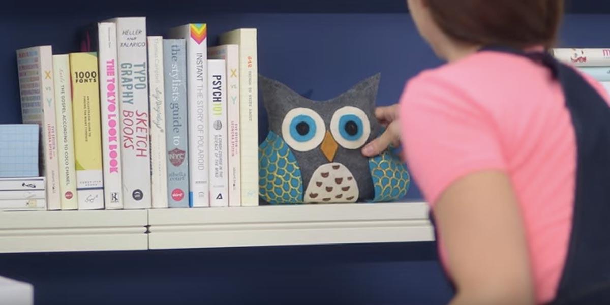 Amazing DIY Home Office Decor Ideas   DIY Owl Bookends   Do It Yourself Desks,  Tables