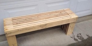 Great Pallet Bench Is So Easy and Inexpensive