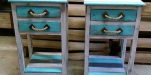Uniquely Fabulous Pallet End Tables Spiffs Up Any Decor!