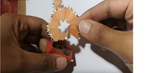Create Something Brilliant Out of Pencil Shavings! Never Would Have Thought Of It!