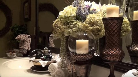 Elegant DIY Pier 1 Inspired Candle Holder Is So Easy & Lovely! | DIY Joy Projects and Crafts Ideas