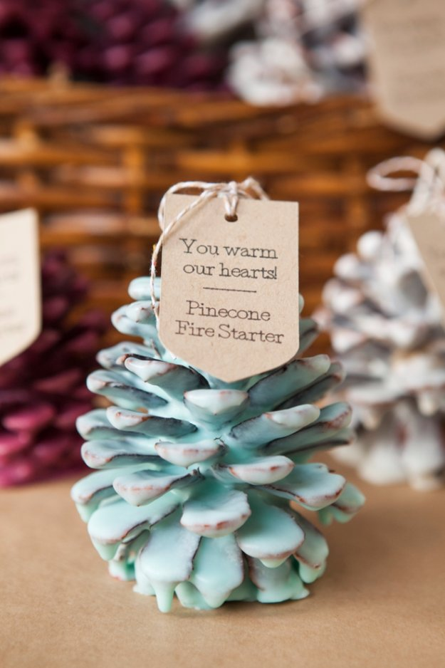 Easy Crafts To Make and Sell - DIY Pine Cone Fire Starters - Cool Homemade Craft Projects You Can Sell On Etsy, at Craft Fairs, Online and in Stores. Quick and Cheap DIY Ideas that Adults and Even Teens #craftstosell #diyideas #crafts