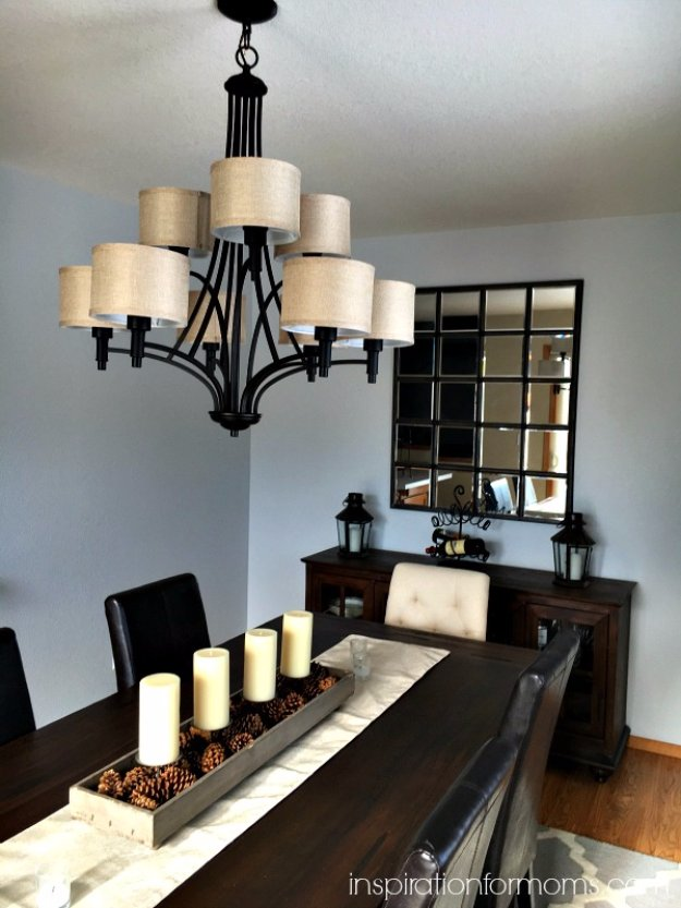 DIY Dining Room Decor Ideas - Pottery Barn Inspired Eagan Mirror - Cool DIY Projects for Table, Chairs, Decorations, Wall Art, Bench Plans, Storage, Buffet, Hutch and Lighting Tutorials