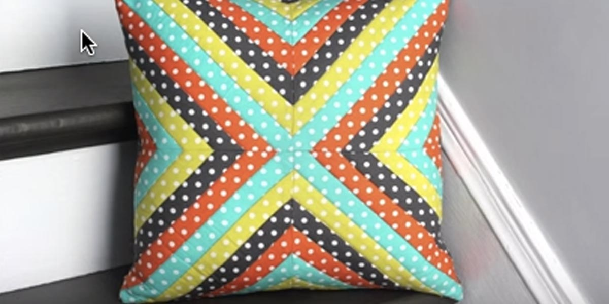 DIY Decor: Quilted Throw Pillow