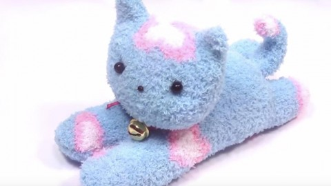 How to Make Sock Kittens   DIY Joy Projects and Crafts Ideas