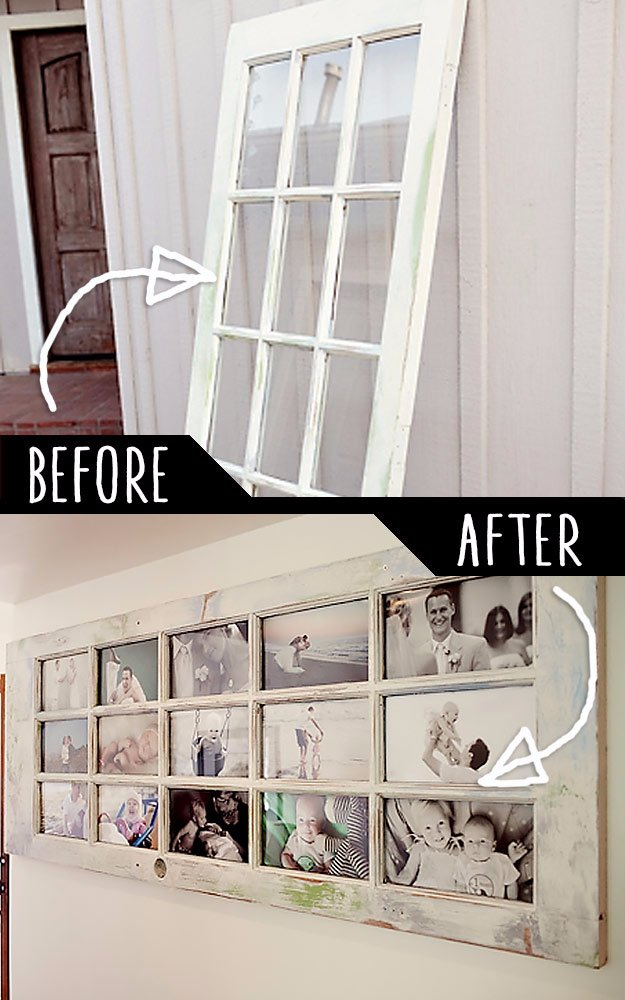 DIY Living Room Decor Ideas   Turn An Old Door Into A Life Story   Cool