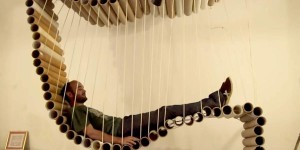 AMAZING Cardboard Tube Lounger You MUST see!