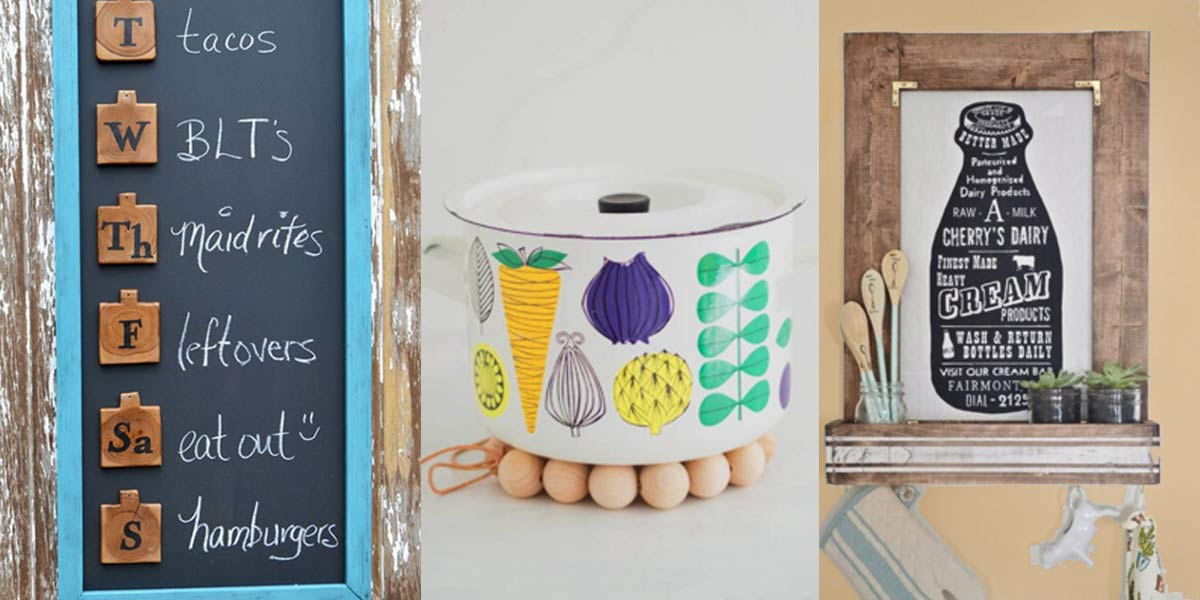 32 Creative DIY Decor Ideas For Your Kitchen Page 6 Of 7 DIY Joy