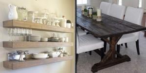 36 DIY Dining Room Decor Ideas