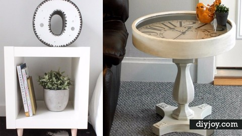35 DIY End Tables | DIY Joy Projects and Crafts Ideas