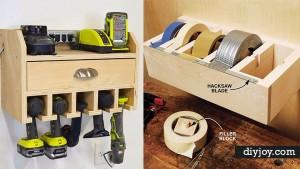 36 DIY Ideas To Organize The Garage