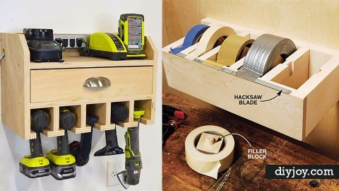 36 DIY Ideas To Organize The Garage | DIY Joy Projects and Crafts Ideas