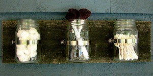 Awesome Mason Jar Organizer! Extra Storage & More Space!
