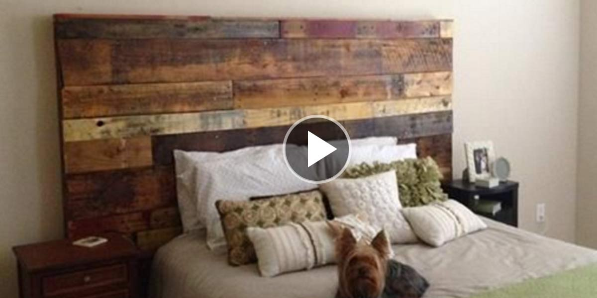Rustic Headboards 31 fabulous diy headboard ideas for your bedroom - diy joy