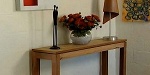 Turn Old Timber Into Something Useful!  Check Out This Fabulous Console Table!