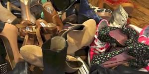 Easy DIY Shoe Rack….under $20 and FABULOUS!