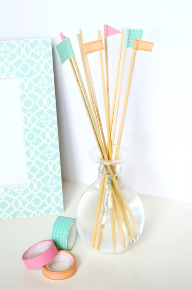 Cheap Crafts To Make and Sell - 5 Minute Reed Diffuser - Inexpensive Ideas for DIY Craft Projects You Can Make and Sell On Etsy, at Craft Fairs, Online and in Stores. Quick and Cheap DIY Ideas that Adults and Even Teens Can Make on A Budget #diy #crafts #craftstosell #cheapcrafts
