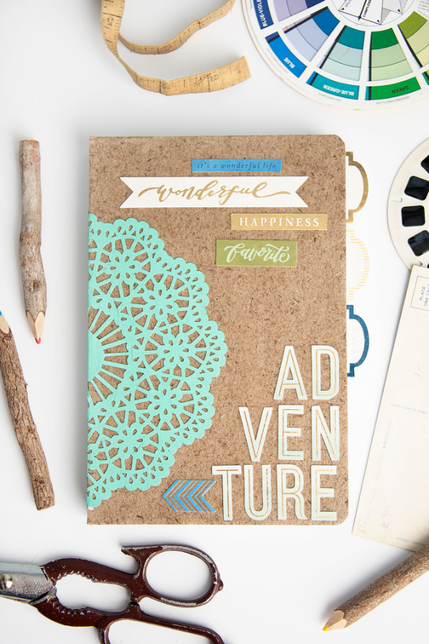 Cheap Crafts To Make and Sell - Adventure Notebook - Inexpensive Ideas for DIY Craft Projects You Can Make and Sell On Etsy, at Craft Fairs, Online and in Stores. Quick and Cheap DIY Ideas that Adults and Even Teens Can Make on A Budget #diy #crafts #craftstosell #cheapcrafts