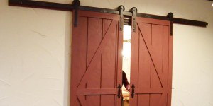 DIY Sliding Barn Doors for Only $40