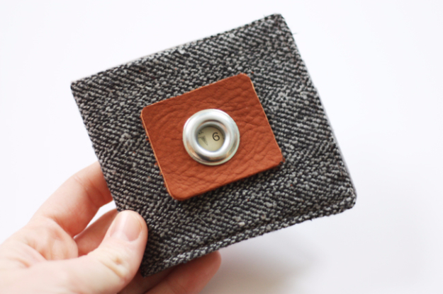 DIY Projects to Make and Sell on Etsy - Basic Boys Wallet - Learn How To Make Money on Etsy With these Awesome, Cool and Easy Crafts and Craft Project Ideas - Cheap and Creative Crafts to Make and Sell for Etsy Shop #etsy #crafts