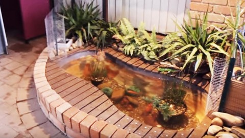 This Is The Coolest Outdoor Quot Bathtub Quot Fish Pond