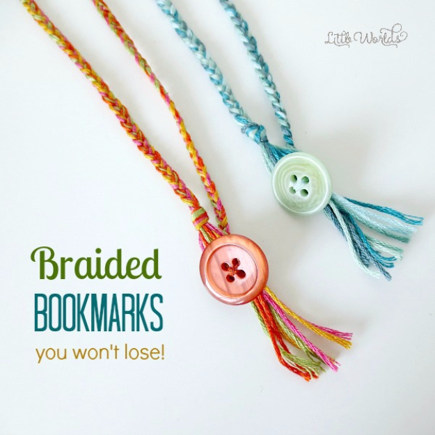 DIY Projects to Make and Sell on Etsy - Braided Bookmarks - Learn How To Make Money on Etsy With these Awesome, Cool and Easy Crafts and Craft Project Ideas - Cheap and Creative Crafts to Make and Sell for Etsy Shop #etsy #crafts