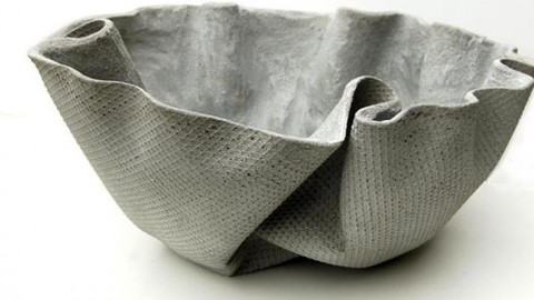 This is a REALLY Cool Concrete Planter That\'s Easy to Make!