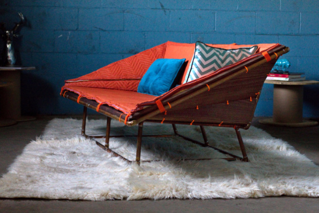 DIY Sofas and Couches - Copper Pipe Sofa - Easy and Creative Furniture and Home Decor Ideas - Make Your Own Sofa or Couch on A Budget - Makeover Your Current Couch With Slipcovers, Painting and More. Step by Step Tutorials and Instructions #diy #furniture
