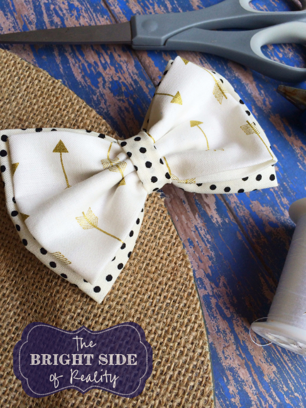 DIY Projects to Make and Sell on Etsy - Cutest DIY Fabric Hairbow Tutorial - Learn How To Make Money on Etsy With these Awesome, Cool and Easy Crafts and Craft Project Ideas - Cheap and Creative Crafts to Make and Sell for Etsy Shop #etsy #crafts