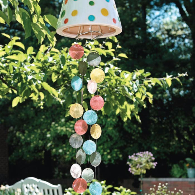 DIY Wind Chimes - DIY Colorful Wind Chimes - Easy, Creative and Cool Windchimes Made from Wooden Beads, Pipes, Rustic Boho and Repurposed Items, Silverware, Seashells and More. Step by Step Tutorials and Instructions #windchimes #diygifts #diyideas #crafts