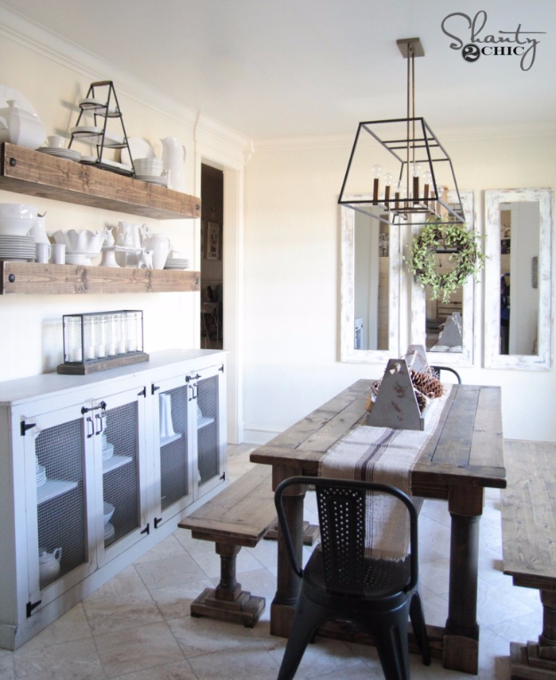 DIY Dining Room Table Projects - DIY Dining Table with Turned Legs - Creative Do It Yourself Tables and Ideas You Can Make For Your Kitchen or Dining Area. Easy Step by Step Tutorials that Are Perfect For Those On A Budget #diyfurniture #diningroom