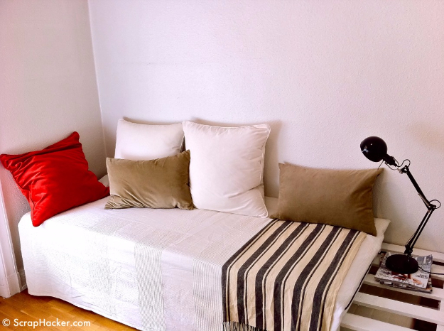 DIY Sofas and Couches - DIY Sofa Bed - Easy and Creative Furniture and Home Decor Ideas - Make Your Own Sofa or Couch on A Budget - Makeover Your Current Couch With Slipcovers, Painting and More. Step by Step Tutorials and Instructions http://diyjoy.com/diy-sofas-couches