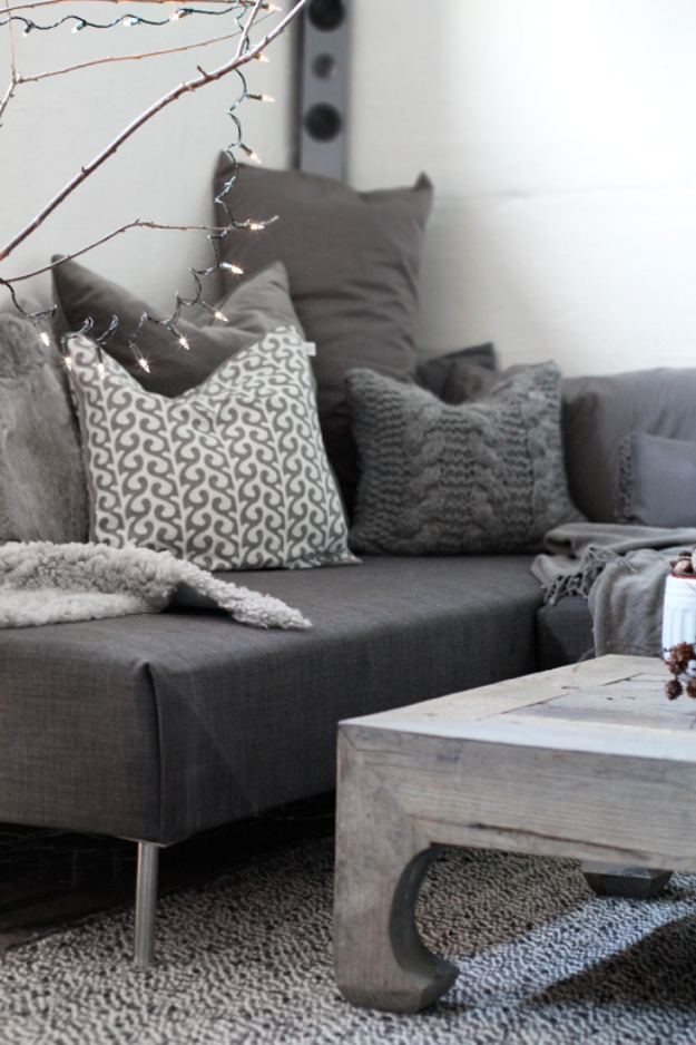 DIY Sofas and Couches - DIY Sofa With Chaise Lounge - Easy and Creative Furniture and Home Decor Ideas - Make Your Own Sofa or Couch on A Budget - Makeover Your Current Couch With Slipcovers, Painting and More. Step by Step Tutorials and Instructions http://diyjoy.com/diy-sofas-couches