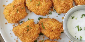 Crunchy Dorito Fried Chicken Nuggets Are Delicious & I Made Mine Gluten-Free! (WATCH!)