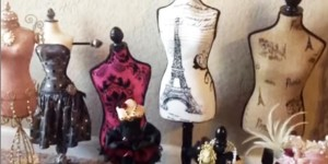 Stylish & Feminine Dress Form Pin Cushions Are So Nouveau Riche!