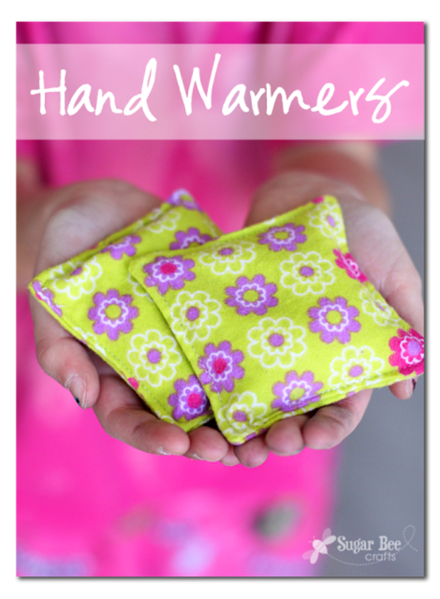 Sewing Crafts To Make and Sell - Handwarmers DIY - Easy DIY Sewing Ideas To Make and Sell for Your Craft Business. Make Money with these Simple Gift Ideas, Free Patterns, Products from Fabric Scraps, Cute Kids Tutorials #sewing #crafts