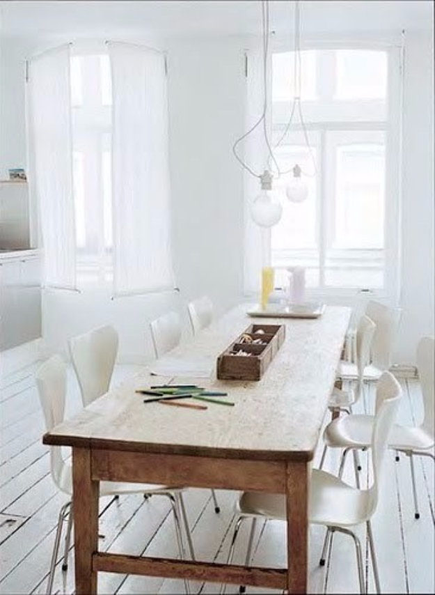 DIY Dining Room Table Projects - Knock Out A Farm Table For $50 - Creative Do It Yourself Tables and Ideas You Can Make For Your Kitchen or Dining Area. Easy Step by Step Tutorials that Are Perfect For Those On A Budget #diyfurniture #diningroom
