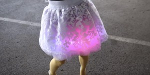 Unique Day to Night Light Skirt Is So Much FUN!