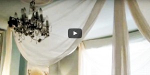 How to Make a Lovely Faux Canopy for Your Bed!