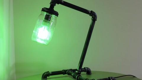 diy mason jar lighting easy diy this is the coolest diy mason jar industrial pipe lamp