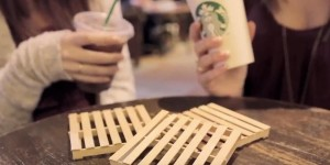 What a Brilliant Idea For Making Coasters!