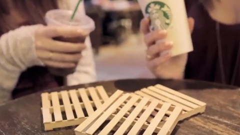 What a Brilliant Idea For Making Coasters! | DIY Joy Projects and Crafts Ideas