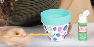 DIY Mosaic Terra Cotta Pot is So Stunning & Very Easy to Make!